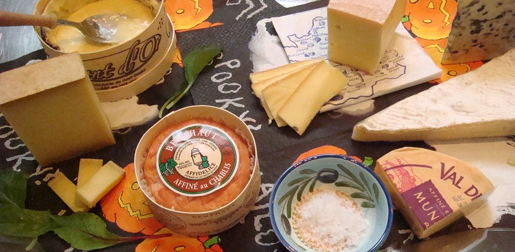 おいしいチーズでハロウィン