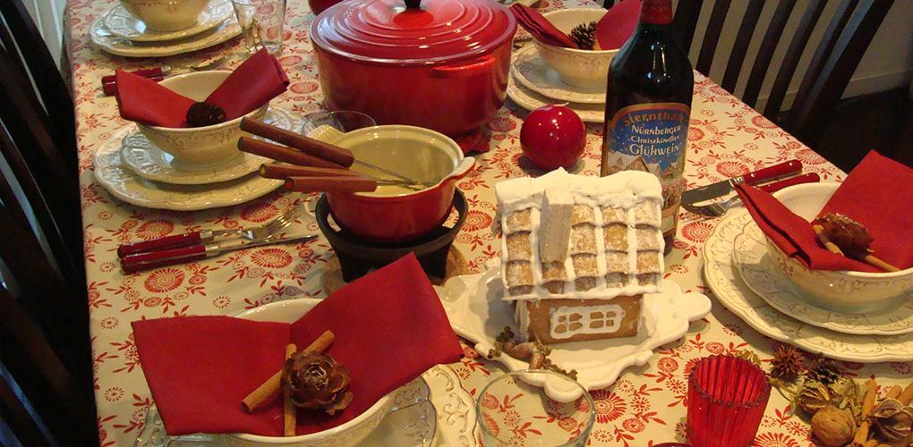 アルザスの山小屋で過ごすクリスマス