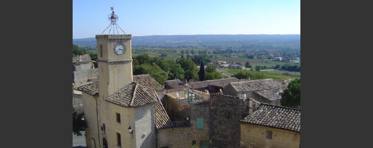 Saint-Maximin村の風景
