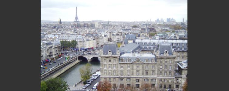 パリの風景(ノートルダム大聖堂から)