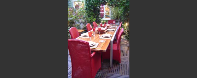 パリのレストランで修行