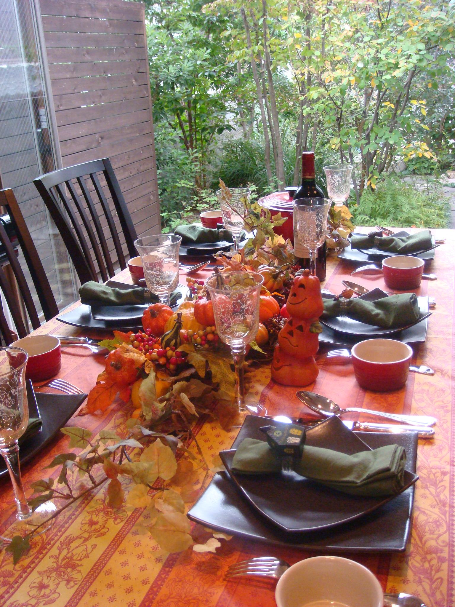 ハロウィンのパーティ料理