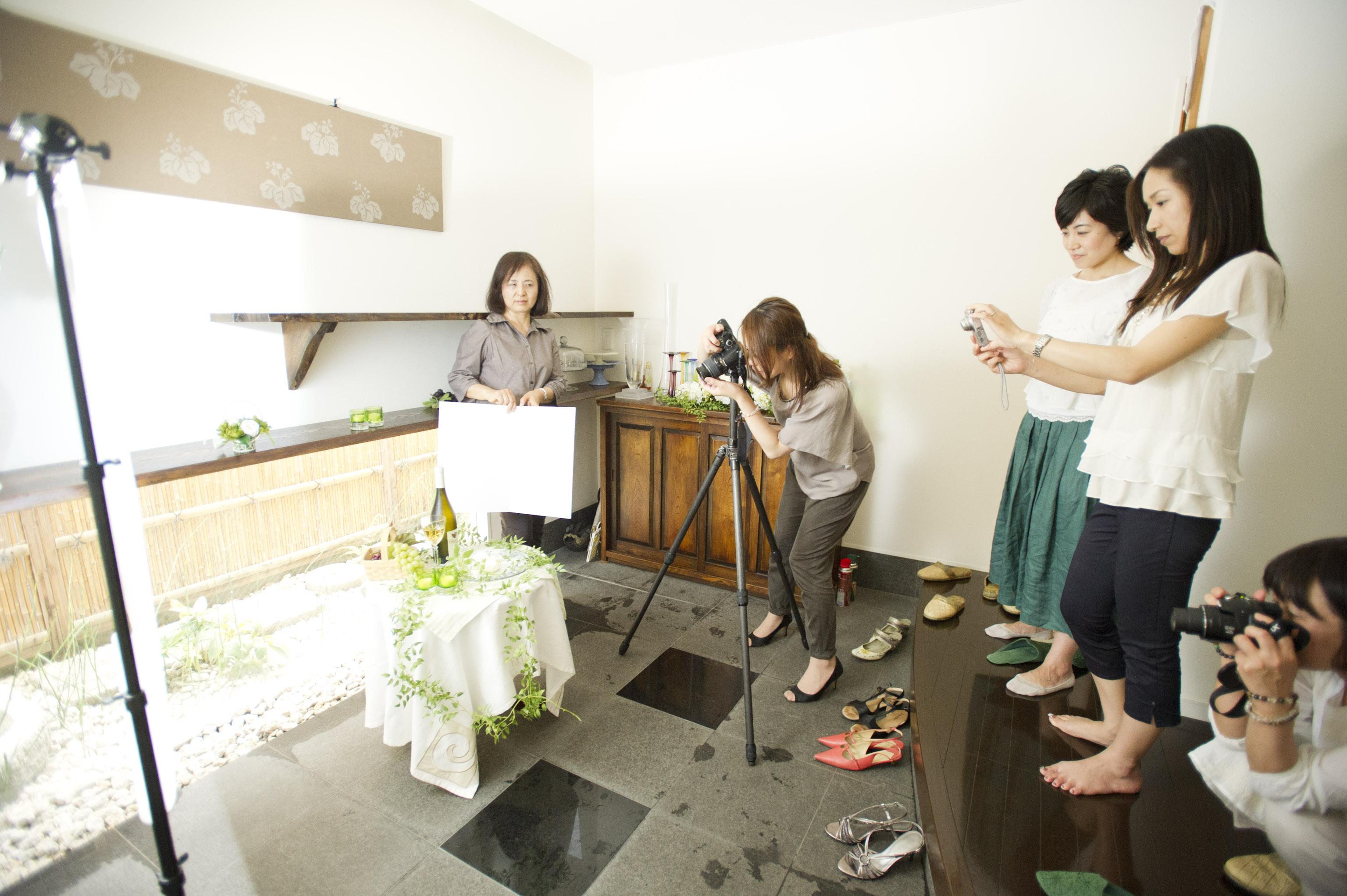 プロのカメラマンによる写真教室